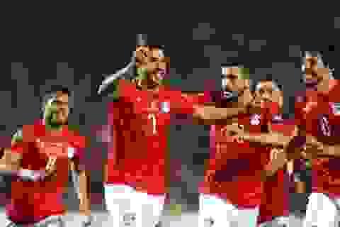 Salah mờ nhạt, Ai Cập thắng nhọc ở ngày khai mạc CAN 2019