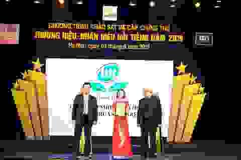 Hồng  Hoa Organic Care – Vinh dự lọt Top 50 Thương hiệu Nhãn hiệu Nổi tiếng năm 2019