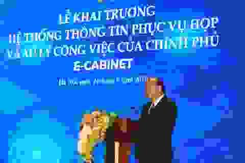 Phiên họp Chính phủ đầu tiên qua hệ thống E-Cabinet