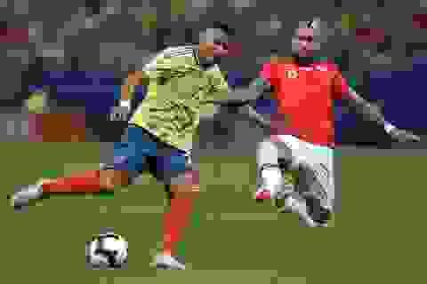 """Bị VAR từ chối bàn thắng, Chile vẫn hạ Colombia trên loạt """"đấu súng"""""""