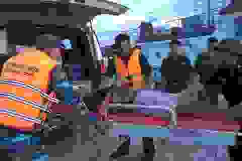 Kịp thời cấp cứu thuyền viên bệnh trọng, nguy kịch trên biển