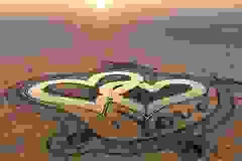 Hồ nhân tạo giữa sa mạc - điểm đến xanh của Dubai