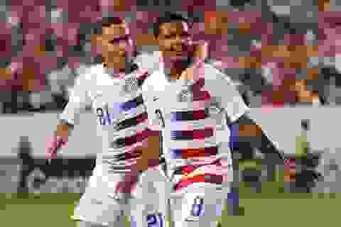 Đội tuyển Mỹ thắng nghẹt thở trước nhà vô địch King's Cup Curacao