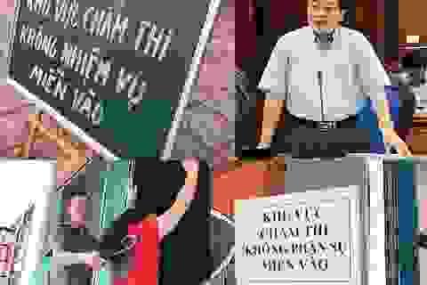 """Người phụ trách """"ghế nóng"""" thi cử Sơn La, Hòa Bình: """"Chúng tôi lo đến mất ăn mất ngủ"""""""