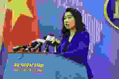 Việt Nam trao công hàm phản đối Trung Quốc tập trận tại Hoàng Sa