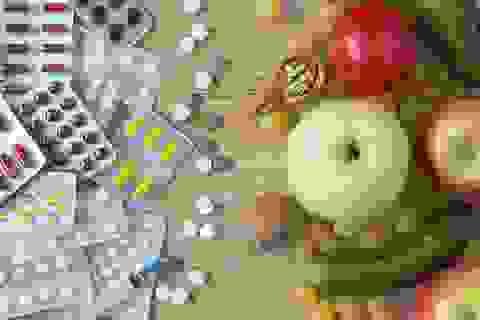 Vi chất dinh dưỡng: Trong thức ăn tốt hơn từ thực phẩm chức năng