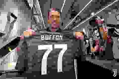 Rời khỏi PSG, Buffon chính thức quay trở lại Juventus