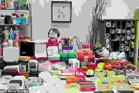 """Bà mẹ gốc Việt gây """"bão mạng"""" vì bộ sưu tập cơm trưa hoành tráng cho con trai"""