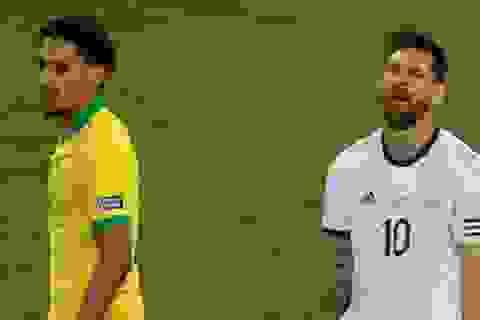 Hàng loạt ngôi sao Brazil bất ngờ lên tiếng công kích Messi