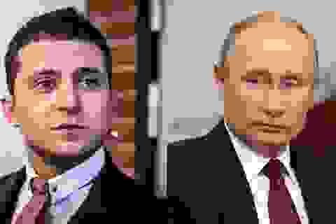 Tổng thống Ukraine tuyên bố sẵn sàng gặp người đồng cấp Nga Putin