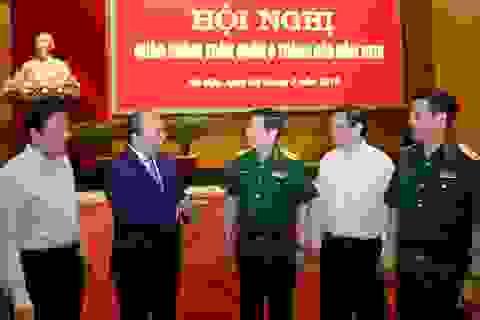 Thủ tướng: Quân đội tập trung giải quyết án phức tạp, không có vùng cấm