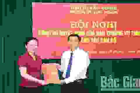 Bổ nhiệm Bí thư huyện uỷ tại thủ phủ vải thiều Bắc Giang!