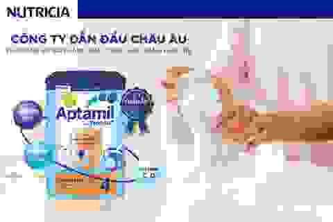Sữa công thức Aptamil giúp tăng cường hệ miễn dịch, hỗ trợ trẻ phát triển toàn diện