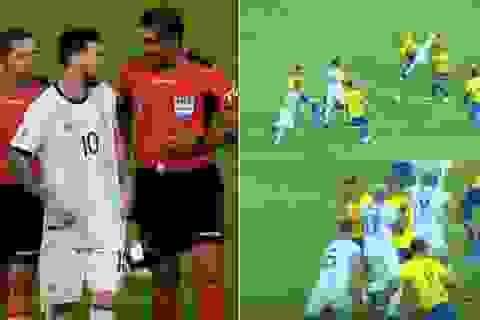 Bị Messi cáo buộc thiên vị Brazil, trọng tài nói gì?