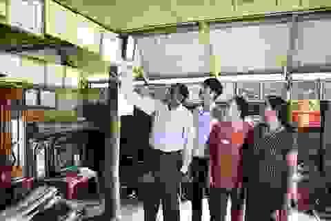 Già làng Nay Bim hiến đất xây dựng trường học vùng khó