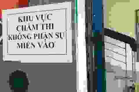 """""""Điểm nóng"""" Sơn La hoàn thành chấm thi: Điểm không cao"""