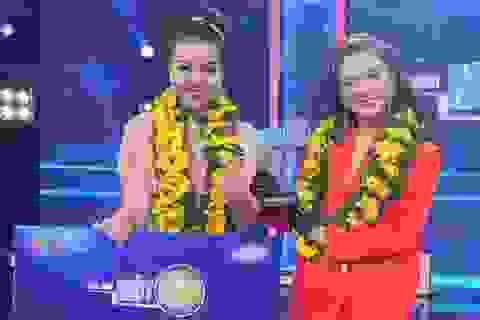 """Thanh Hương đăng quang """"Trời sinh một cặp"""" nhận giải thưởng nửa tỷ đồng"""
