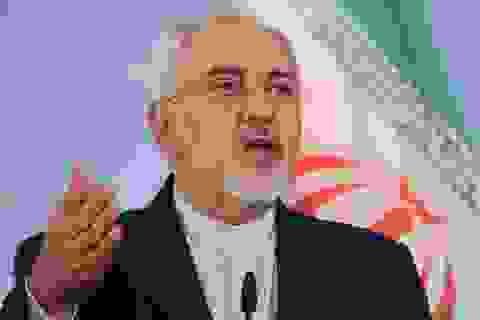 """Ngoại trưởng Iran cảnh báo Mỹ đang """"đùa với lửa"""""""