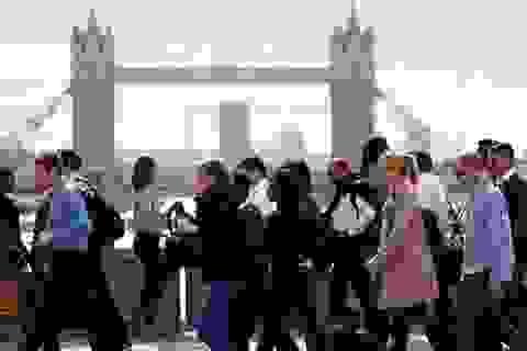 Tỷ lệ thất nghiệp tại Anh ở mức thấp nhất kể từ năm 1974