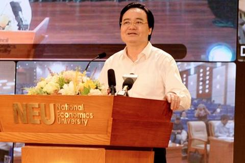 """Bộ trưởng Phùng Xuân Nhạ: """"Điểm thi môn Tiếng Anh, Lịch sử chưa chấp nhận được"""""""