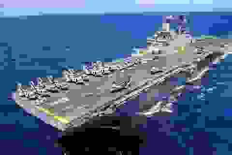 Mỹ bắn rơi máy bay không người lái của Iran ở eo biển Hormuz
