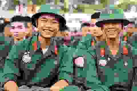 Bộ Quốc phòng công bố mức điểm nhận hồ sơ xét tuyển các trường Quân đội năm 2019