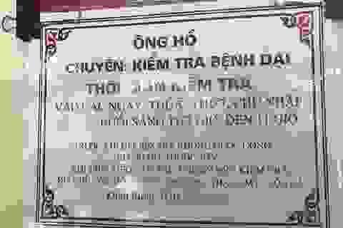 """Vụ """"thầy lang"""" chẩn đoán bệnh dại bằng phương pháp lạ ở Hà Tĩnh: Cam kết chấm dứt hành nghề"""