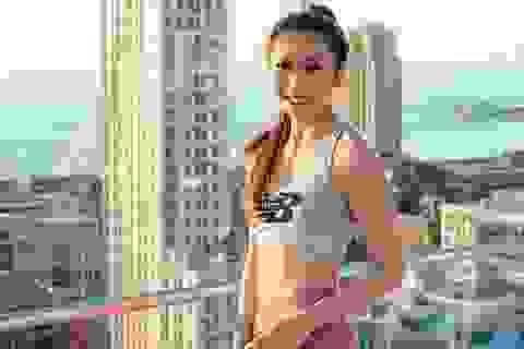 Cô gái năng động người Việt khẳng định mình trong lĩnh vực Yoga tại Mỹ