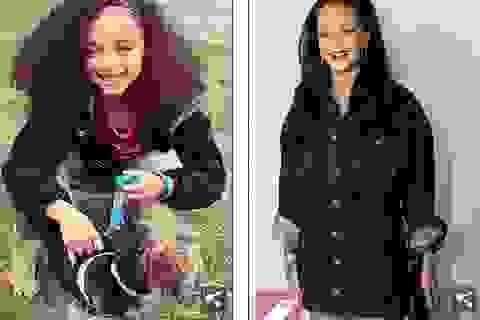 """Rihanna sốc khi thấy """"bản sao"""" nhí"""