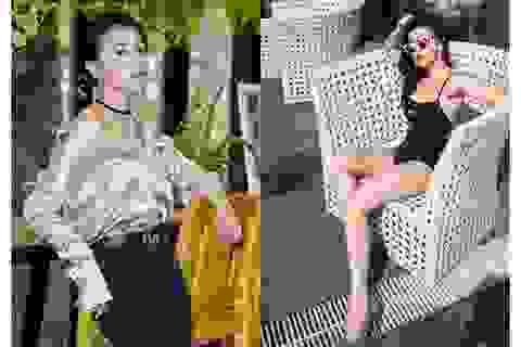 """""""Quỳnh Búp bê"""" Phương Oanh ngại cảnh nóng"""
