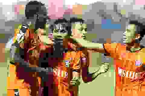 Thua đậm SHB Đà Nẵng, Sài Gòn FC ở sát nhóm có nguy cơ rớt hạng