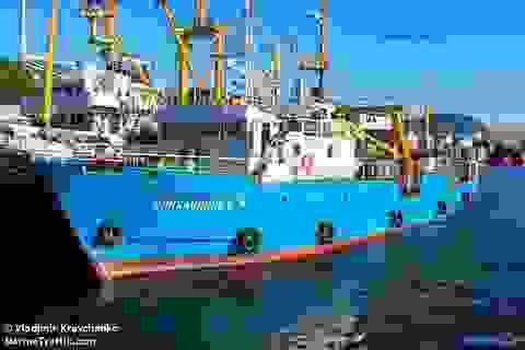 Triều Tiên thả tàu cá Nga
