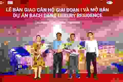 G5 Invest bàn giao nhà đúng cam kết dự án Bach Dang Luxury Residence
