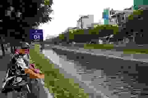 Hà Nội tiếp tục mở cửa xả nước hồ Tây ra sông Tô Lịch