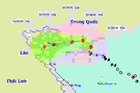 Bão số 3 đổi hướng trước khi đổ bộ vào Quảng Ninh - Thái Bình