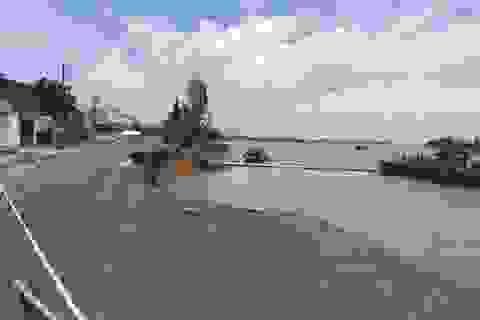 Bộ GTVT thông tin chính thức vụ quốc lộ 91 bị sạt lở xuống sông Hậu