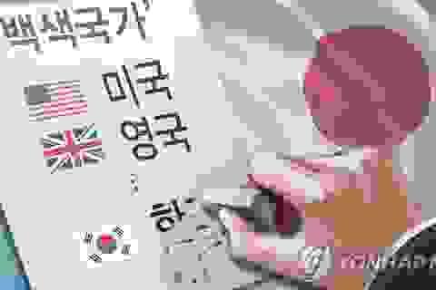 Nhật loại Hàn Quốc khỏi danh sách các đối tác thương mại đáng tin cậy