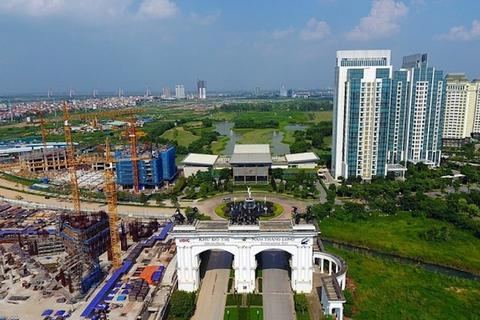 """Khu đô thị quốc tế lớn nhất ở Hà Nội, ôm đất hơn 20 năm vẫn để """"treo"""""""