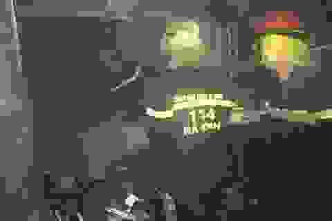 Cháy chợ trong đêm, nhiều ki-ốt bị thiêu rụi