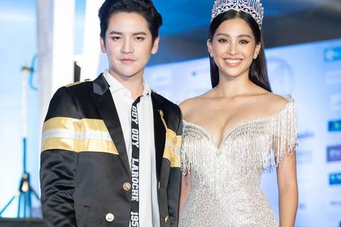 Hoa hậu Tiểu Vy sánh đôi cùng ngôi sao Thái Lan Tao Sattaphong Phiangphor