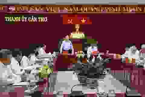 Bộ Chính trị triển khai quyết định kiểm tra tại Cần Thơ
