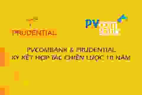 PVcomBank và Prudential ký kết hợp tác chiến lược 10 năm