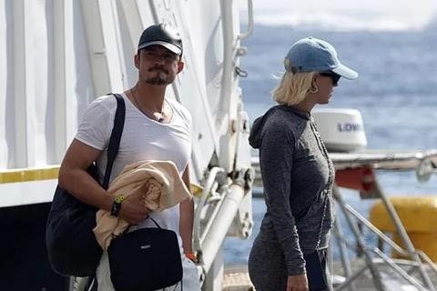 Katy Perry đi nghỉ mát cùng Orlando Bloom