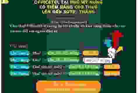 Căn hộ ở được ngay tại Phú Mỹ Hưng cho thuê 20-30 triệu/tháng