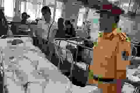 Vụ tông trọng thương Thiếu tá CSGT: Người đi xe máy có nồng độ cồn rất cao