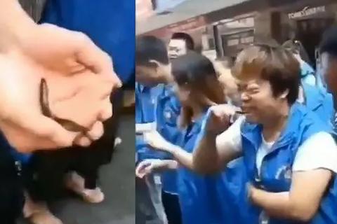 Công ty Trung Quốc bắt nhân viên không đạt chỉ tiêu ăn cá sống, uống máu gà