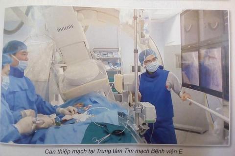 Trung tâm tim mạch Bệnh viện E - Nơi có những bàn tay vàng