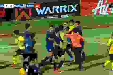 HLV U15 Thái Lan nói gì khi các học trò đấm nhau túi bụi với Malaysia?