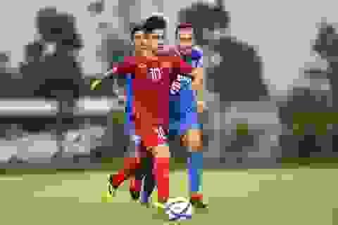 Martin Lo ghi bàn, U22 Việt Nam thắng dễ Kitchee