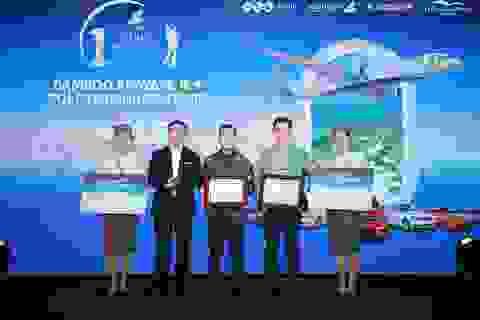Bamboo Airways 18/8 Golf Tournament vinh danh các golfer xuất sắc trong ngày thi đấu đầu tiên